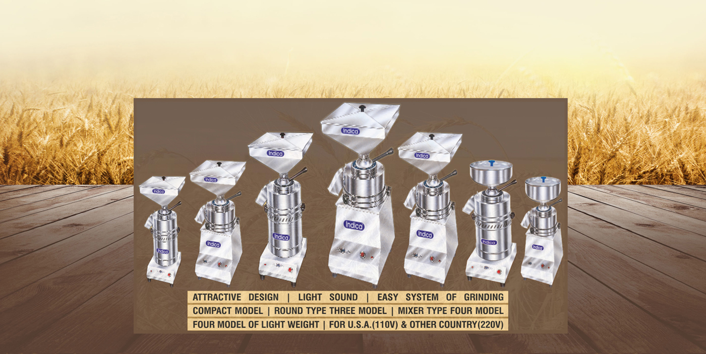 Indica Domestic Flourmill Manufacturing Domestic Flourmill